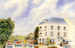 """Restaurant - tea-room """"Le Côté Meuse"""" (avec terrasse)"""